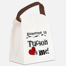 LOVESMETUCSON.png Canvas Lunch Bag