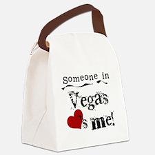 LOVESMEVEGAS.png Canvas Lunch Bag