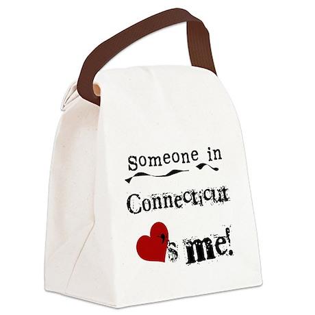 lovesmeconnecticut.png Canvas Lunch Bag