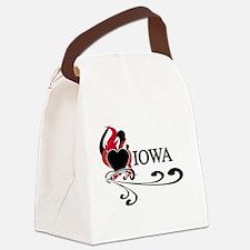 FIREHEARTIOWA.png Canvas Lunch Bag