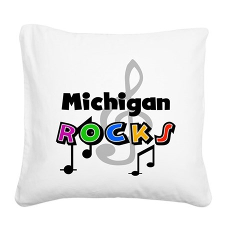 stmichigan.png Square Canvas Pillow