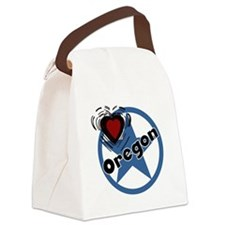 circleoregon.png Canvas Lunch Bag