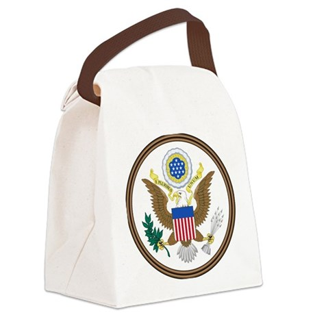 USA Seal Canvas Lunch Bag