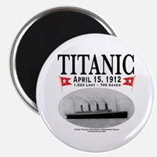 Titanic Ghost Ship (white) Magnet