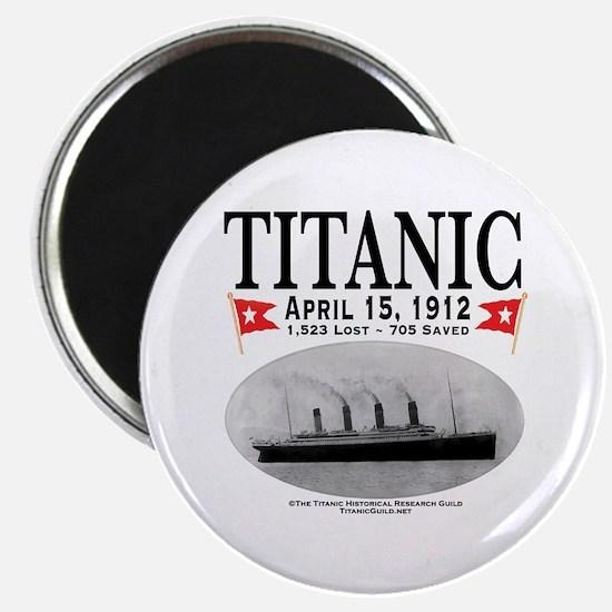 Titanic Ghost Ship (white) Magnet