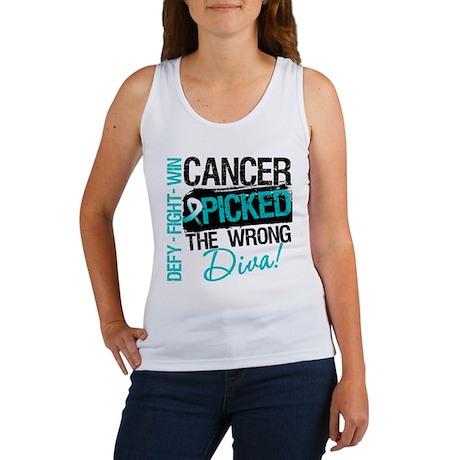 Cervical Cancer Wrong Diva Women's Tank Top