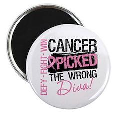 Breast Cancer Wrong Diva Magnet