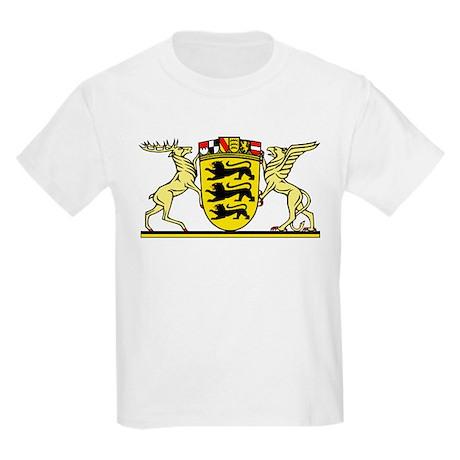 landeswappen badenw252rttemberg kids light tshirt