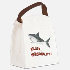 Killer Personality - Shark Canvas Lunch Bag