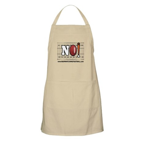 NO! I'm Watching Football! Apron