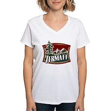 Zermatt Mountain Banner Shirt