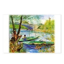 Fishing in Spring Postcards (Package of 8)
