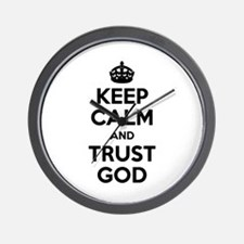"""Keep Calm"" Wall Clock"