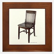 Empty Chair Framed Tile