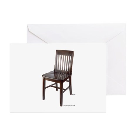 Empty Chair Greeting Cards (Pk of 10)