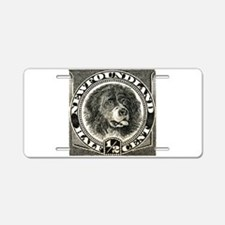 Postage stamps Aluminum License Plate