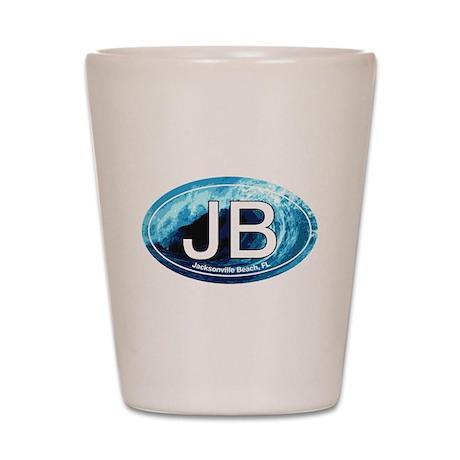 JB Jacksonville Beach Wave Shot Glass