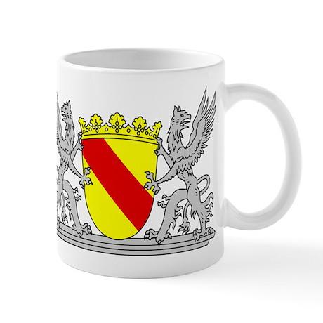 landeswappen baden mit greif mug by heimatwappen