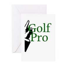 Golf Pro Greeting Cards (Pk of 10)
