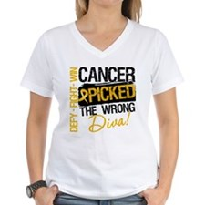 Appendix Cancer Wrong Diva Shirt