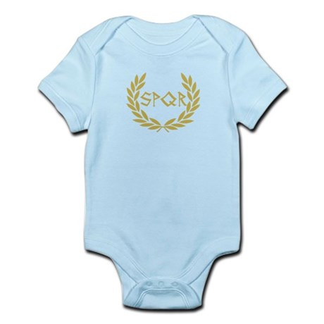 SPQR Shirt Infant Bodysuit