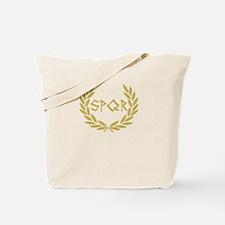SPQR Shirt Tote Bag