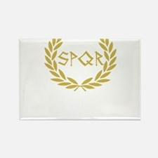 SPQR Shirt Rectangle Magnet
