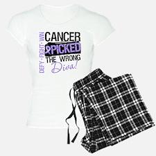 General Cancer Wrong Diva Pajamas