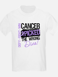General Cancer Wrong Diva T-Shirt
