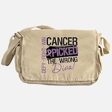 General Cancer Wrong Diva Messenger Bag