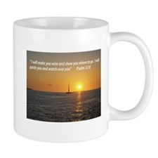 I will make you wise and show you where to go Mug