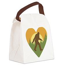 Bigfoot Love Canvas Lunch Bag