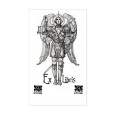 Ex Libris Angel Bookplate