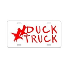 DUCK TRUCK Aluminum License Plate