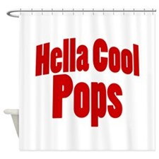 Hella Cool Pops Shower Curtain