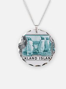 Unique Stamps Necklace