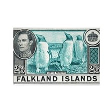 Cute Falkland islands Rectangle Magnet