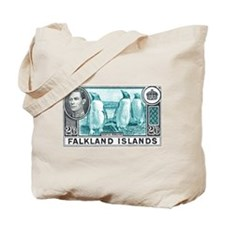 Cool Antique postage stamp Tote Bag