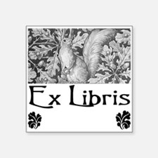 Ex Libris Squirrel Bookplate