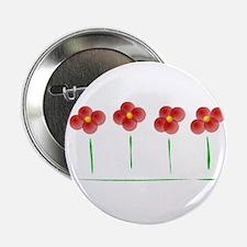 "Bip Flowers 2.25"" Button"