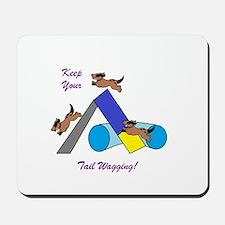 Keep Wagging Mousepad