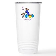 Keep Wagging Travel Mug