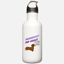 Only Wieners Dont Vote for Obama Water Bottle