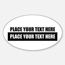 Text message Customized Decal