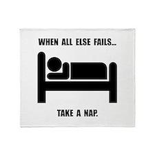 Take A Nap Throw Blanket