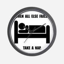 Take A Nap Wall Clock