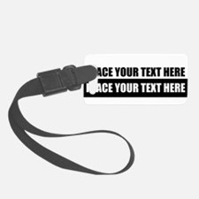 Text message Customized Luggage Tag