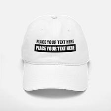 Text message Customized Baseball Baseball Baseball Cap
