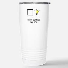 Think Outside The Box Travel Mug