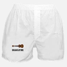 Ukanlayme Ukulele Boxer Shorts